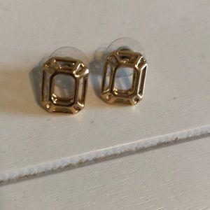Kate Spade gold earrings- brand new!